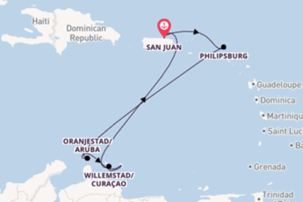 8 day expedition from San Juan