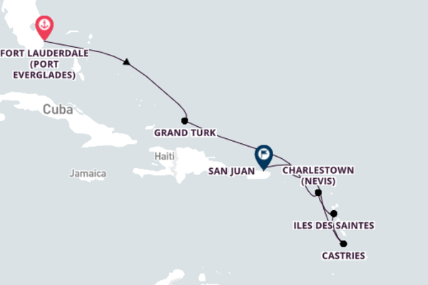 Fort Lauderdale to San Juan with Silver Shadow