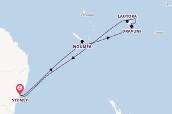 13 jours de navigation à bord du bateau Regal Princess depuis Sydney