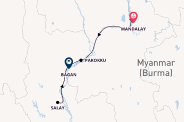 8 day expedition from Mandalay