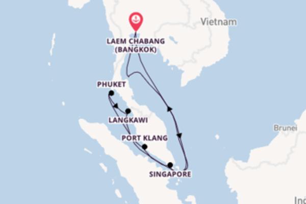Bezichtig het betoverende Phuket in 15 dagen