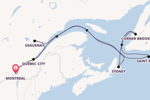 Journey with Royal Caribbean from Montreal