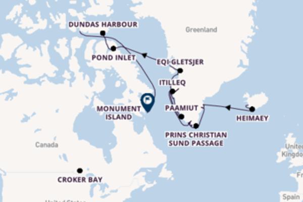 Maak een droomcruise naar Ilulissat