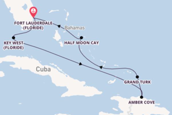 Croisière de 8 jours vers Fort Lauderdale avec Holland America Line