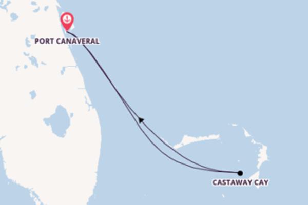 4-tägige Kreuzfahrt bis Port Canaveral