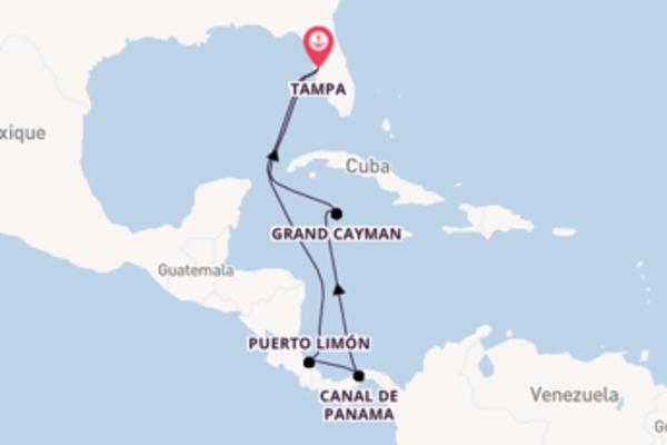Croisière de 9 jours depuis Tampa avec Carnival Cruise Lines
