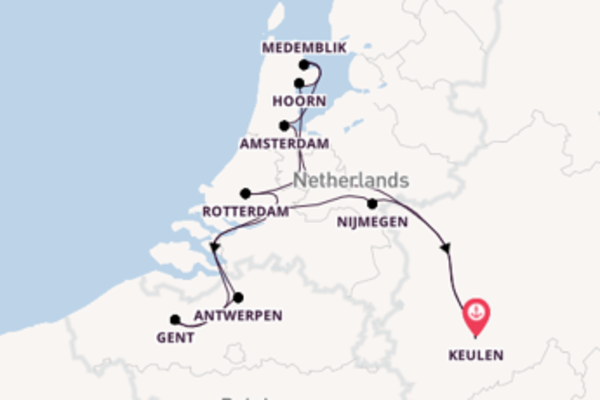 Ontdek het mooiste van Nederland en België