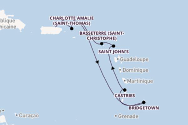 Croisière de 8 jours vers San Juan avec Celebrity Cruises