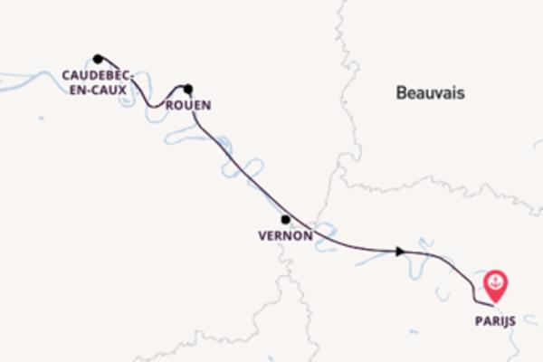 8-daagse cruise met de A-ROSA VIVA vanuit Parijs
