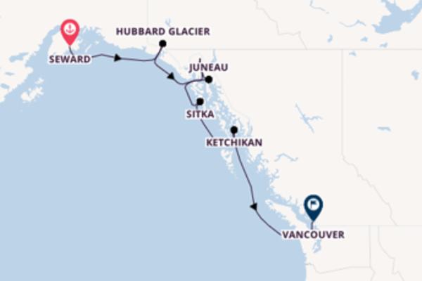8 day journey from Seward