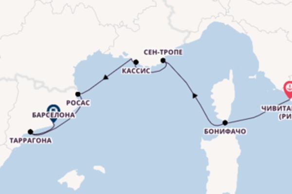 Великолепный вояж на 8 дней с SeaDream Yacht Club