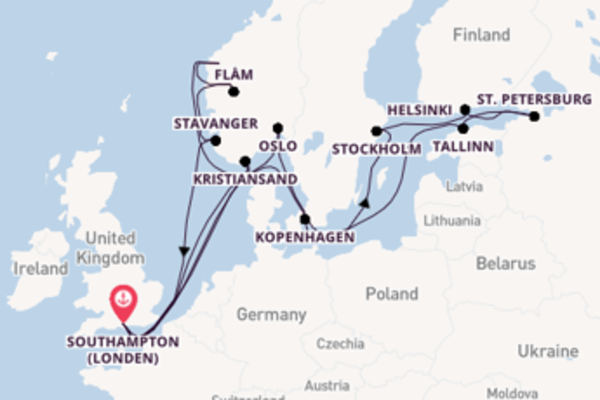 Geniet van het waanzinnige Flåm met MSC Cruises