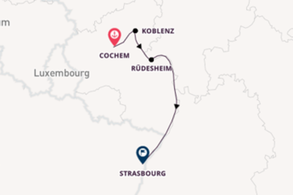 Expedition with CroisiEurope from Cochem