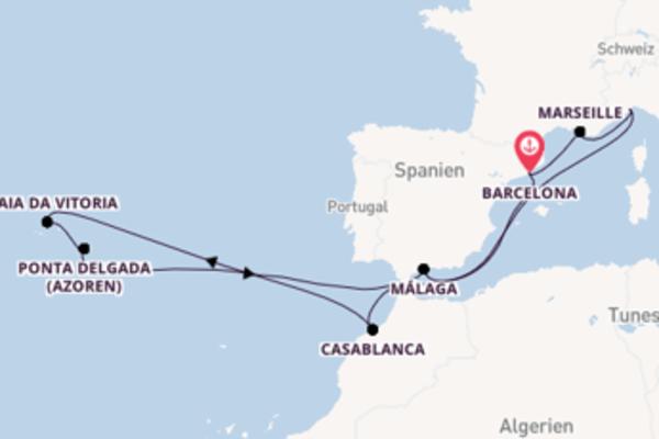 Spannende Reise mit der Costa Magica