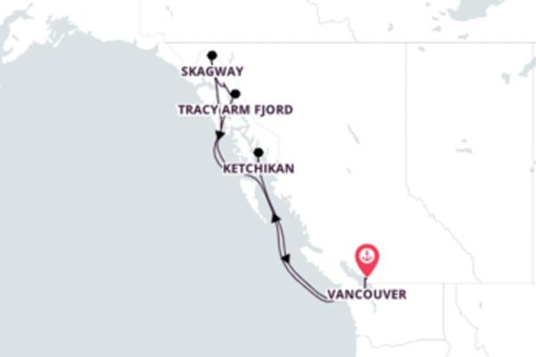 Radiante passeio de 8 dias até Vancouver