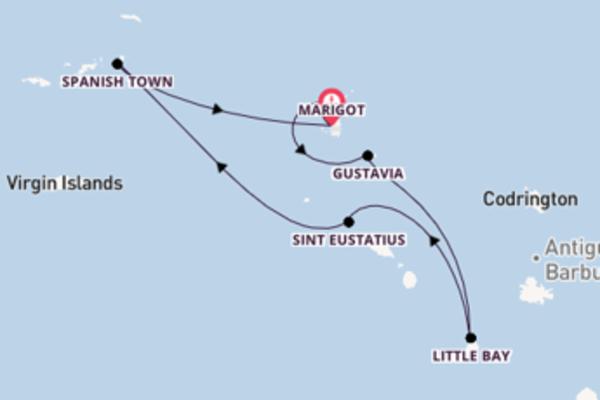 Maak een droomcruise naar Sint Eustatius