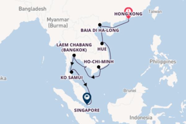 Fare rotta verso Hue a bordo di Seven Seas Explorer