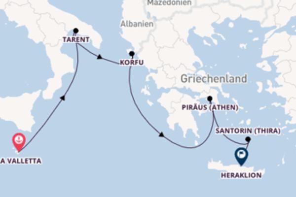 Genießen Sie Piräus (Athen) auf der Mein Schiff ♥