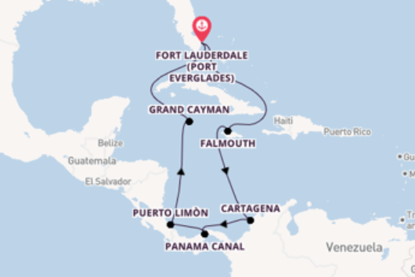Cruising from Fort Lauderdale (Port Everglades) via Cartagena