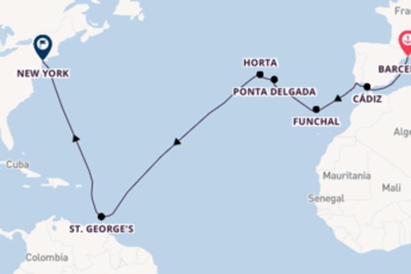 Vaar met de Seven Seas Navigator naar New York