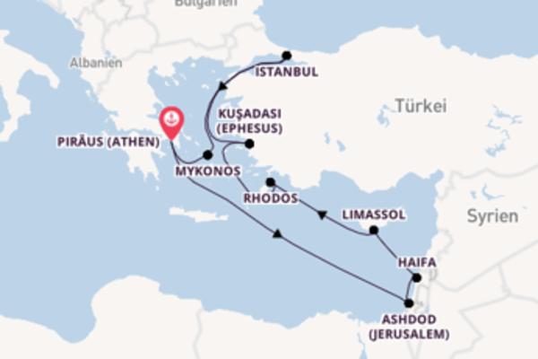 10 Tage Mittelmeer Reise