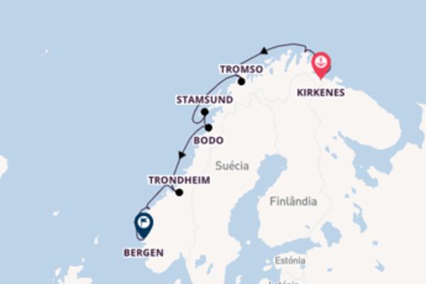Divina viagem com o Kong Harald