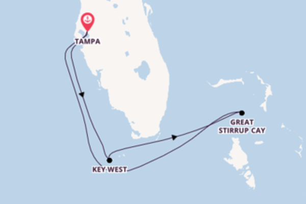 Journey from Tampa with the Norwegian Dawn