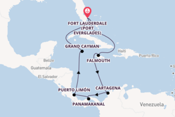 Von Fort Lauderdale über Grand Cayman in 11 Tagen