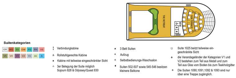 Seabourn Odyssey Deck 11