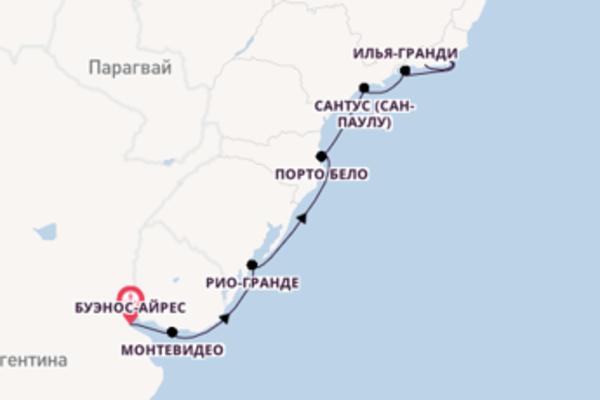Обворожительное путешествие на 11 дней с Regent Seven Seas Cruises