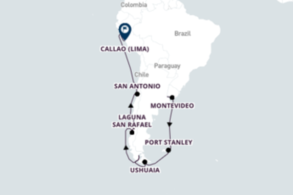 Stunning Callao from Buenos Aires with Oceania Cruises