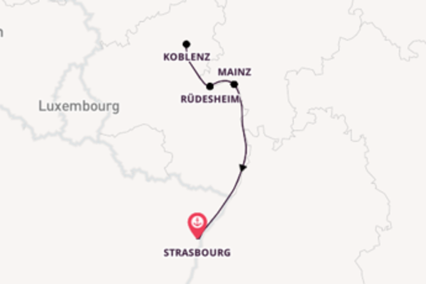 Charming cruise from Strasbourg with CroisiEurope