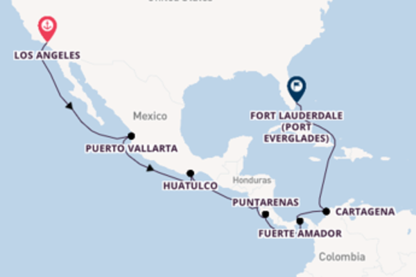 Cruising with Princess Cruises from Los Angeles to Fort Lauderdale