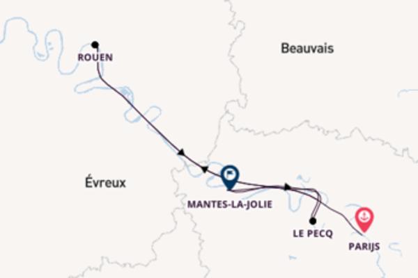Cruise naar Le Pecq via Rouen