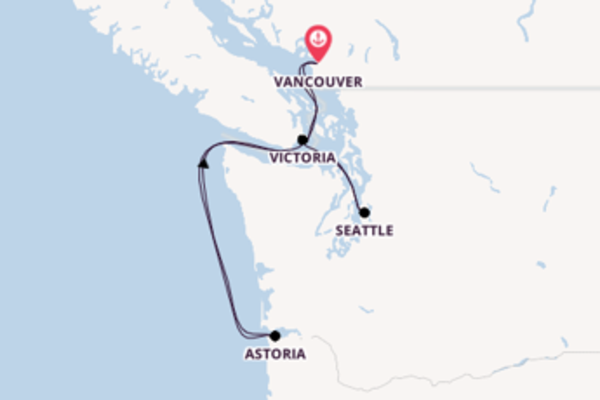 Vibrant voyage from Vancouver with Celebrity Cruises