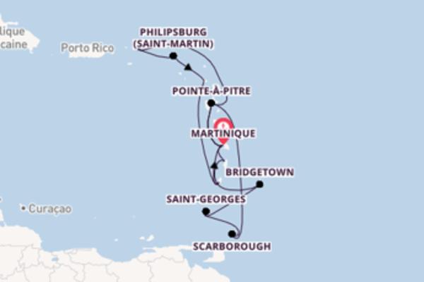Croisière de 15 jours depuis Martinique avec Costa Croisières