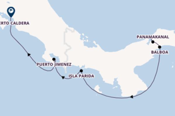 In 8 Tagen nach Puerto Jimenez über Balboa
