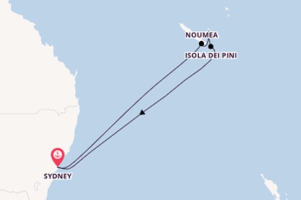 9 giorni da Sydney