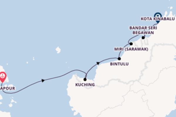 Belle balade de 11 jours à bord du bateau Star Clipper