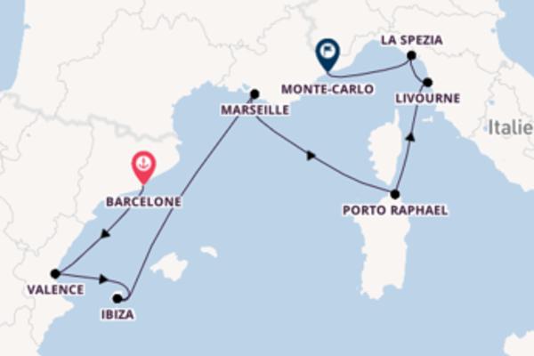 Croisière de 8 jours vers Monte-Carlo avec Oceania Cruises