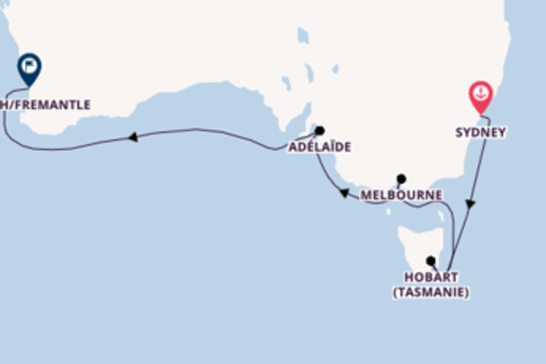 Merveilleuse balade de 11 jours pour découvrir Melbourne
