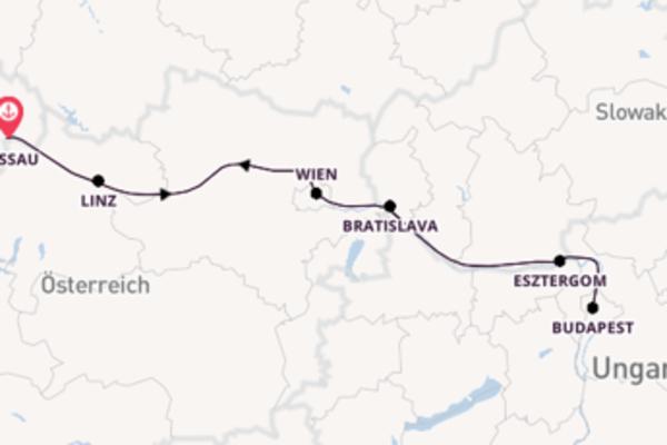 Außergewöhnliche Reise nach Passau