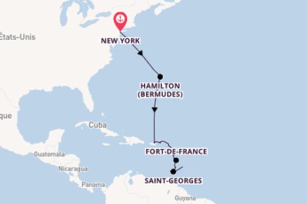 Dépaysante balade pour découvrir Fort-de-France