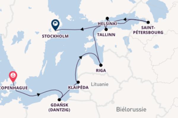 Agréable balade de 10 jours au départ de Copenhague