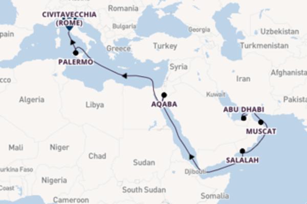 Beleef Aqaba met Costa Cruises
