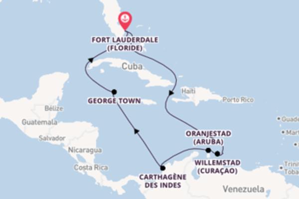 Visitez avec Celebrity Cruises, la destination: Oranjestad (Aruba)
