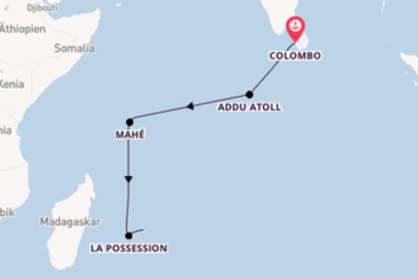 Trauminselreise ab Colombo
