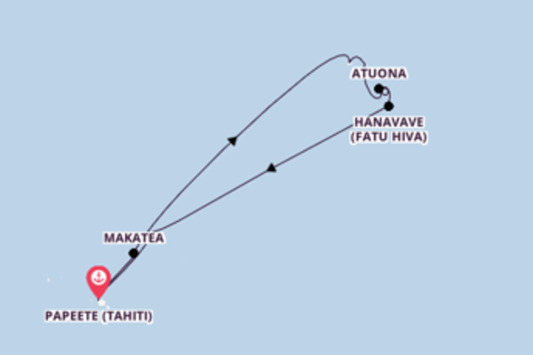 Einmalige Kreuzfahrt mit der Aranui 5