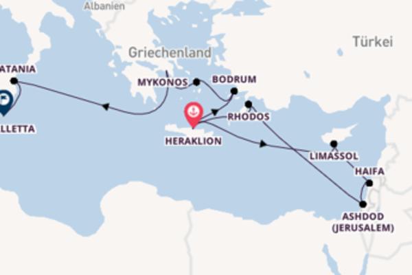 Kreuzfahrt mit der Mein Schiff ♥ nach La Valletta