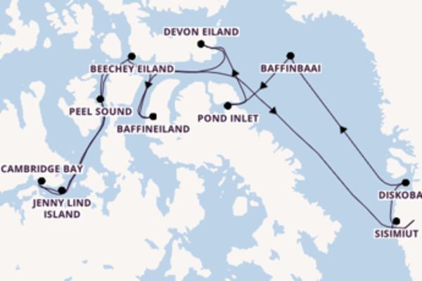 Verken Peel Sound, Canada met Hapag-Lloyd Cruises